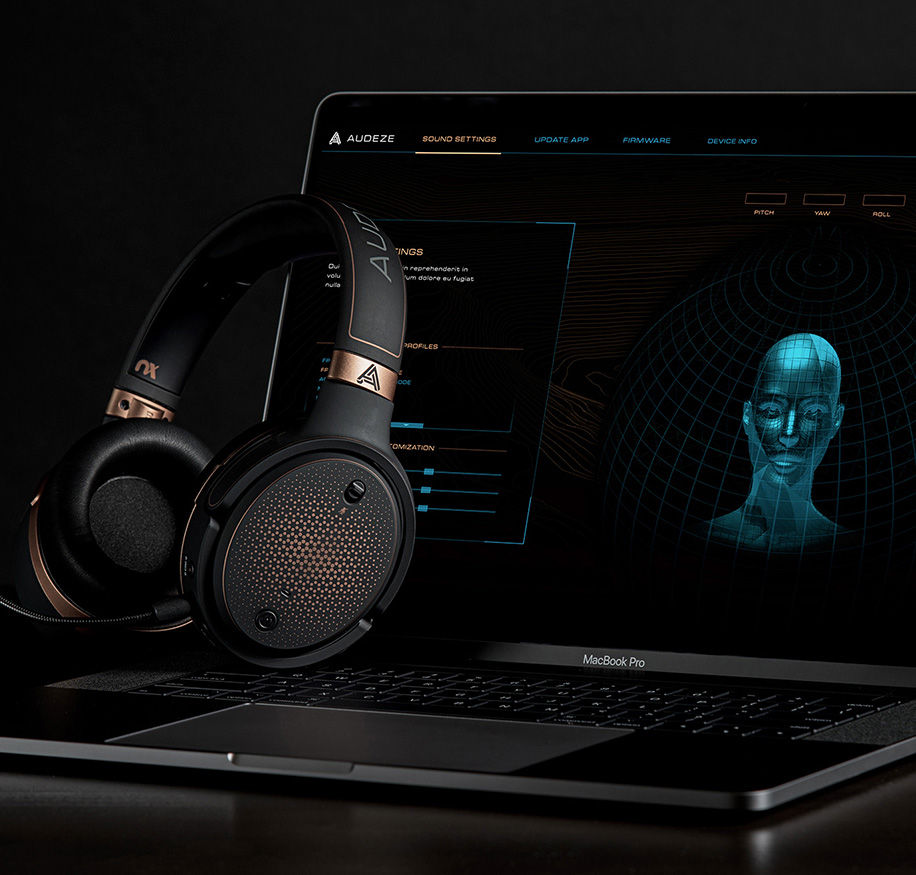 Headphones and gaming software on MacBook Pro