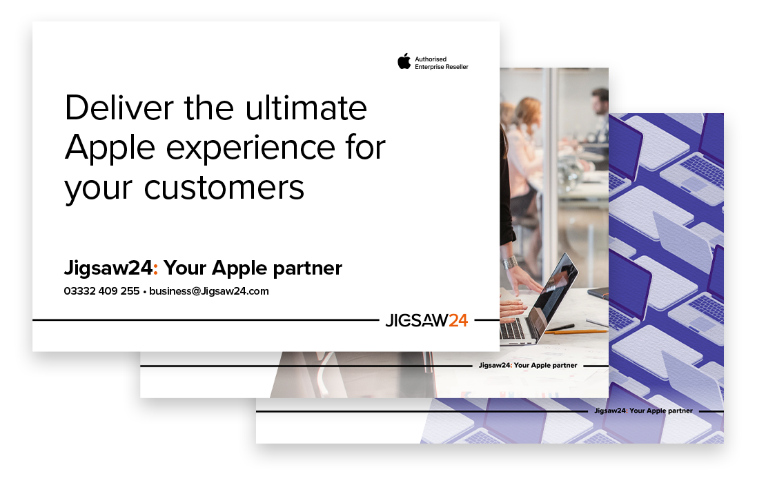 Deliver the ultimate Apple experience for your customers – Jigsaw24 resource pdf
