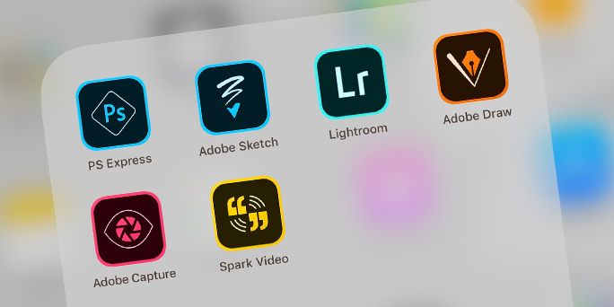Adobe's mobile apps: At a glance