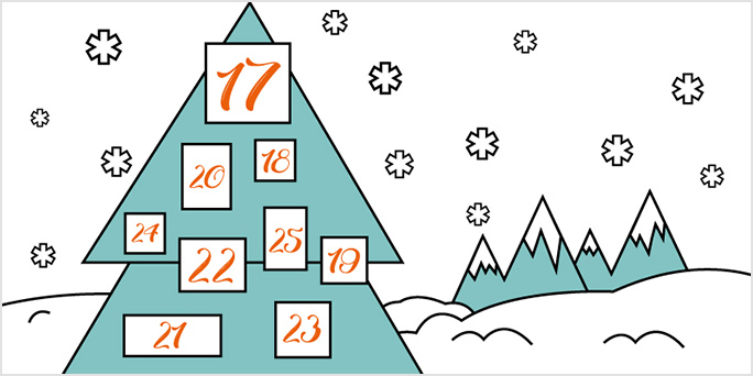 Win big this Christmas with the Jigsaw24 advent calendar!