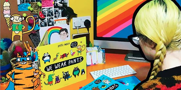 Creative spotlight: Katie Abey, illustrator and independent business owner