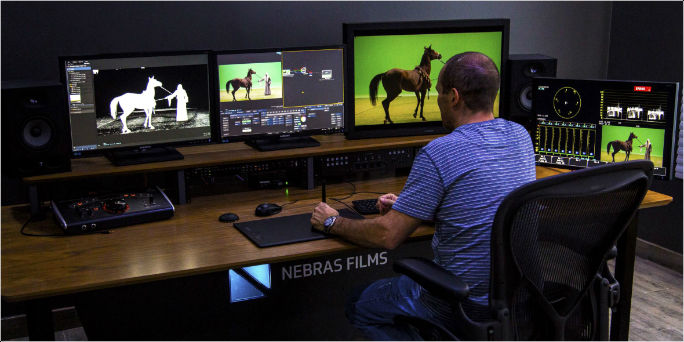 Nebras Films choose ContentAgent and Leader LV7770 and LV7390 for new post facility in Riyadh
