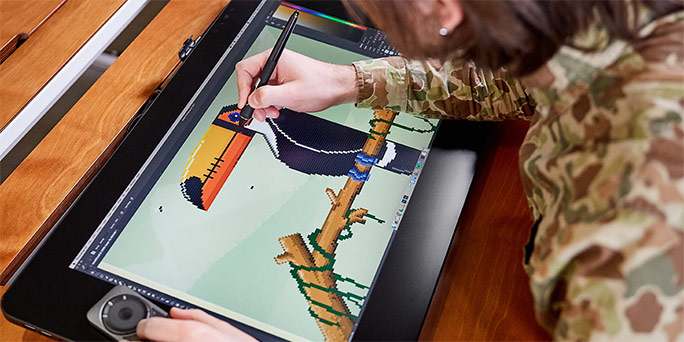 Our top creative hacks to boost your productivity with Adobe CC and Wacom tablets