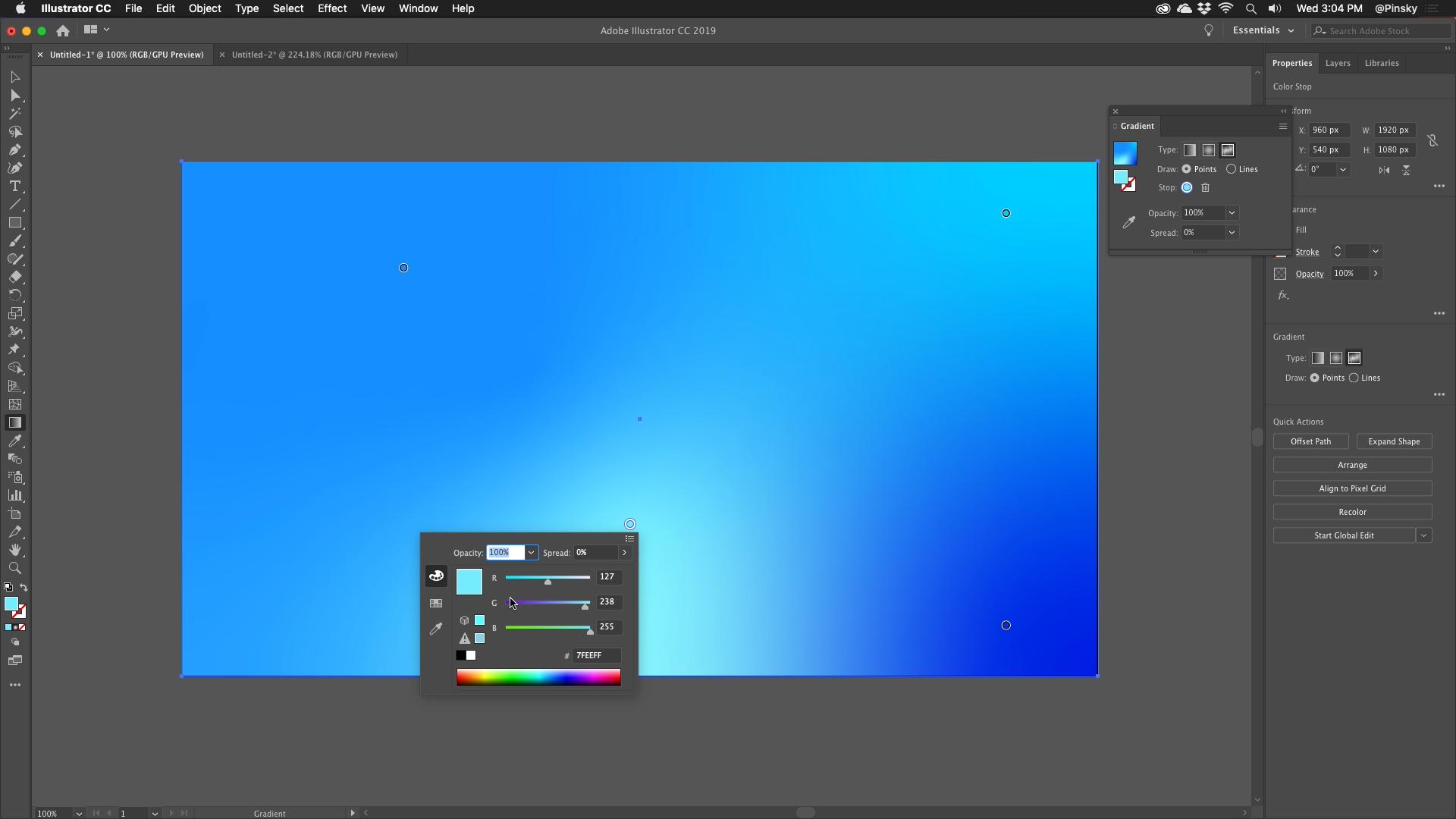 Adobe XD expert Howard Pinsky on colour gradients, micro