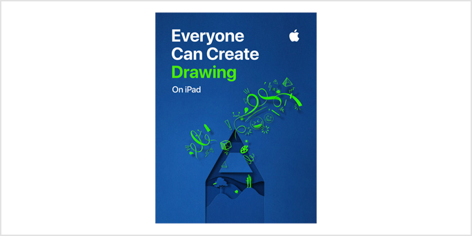 Unleash your students' inner artist with Everyone Can Create: Drawing On iPad