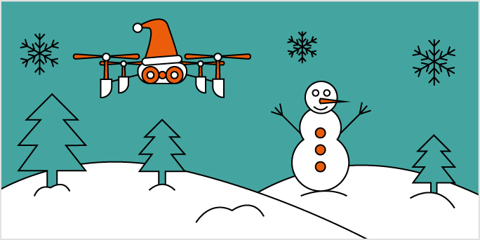 Take off this Christmas with our coding competition