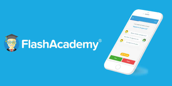 Break the language barrier with FlashAcademy
