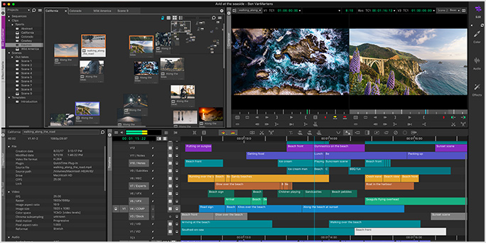 Avid's Media Composer options explained