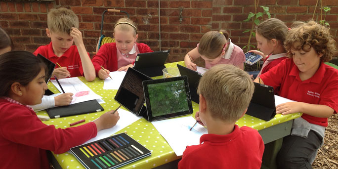 Fun and engaging learning at Nether Alderley with a 1:1 iPad scheme