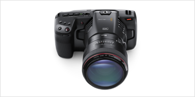Blackmagic Design launch EF mount Pocket Camera 6K