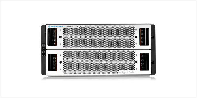 New SpycerNode modules confirm Rohde & Schwarz's move away from Fibre Channel