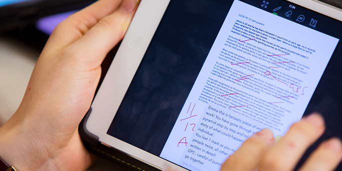 How iPad gives you more control over your teaching workload
