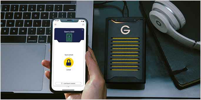 Introducing G-Technology ArmorLock: Complete security and drive management