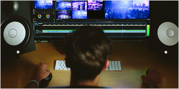 Avid spotlight: Remote working done three ways