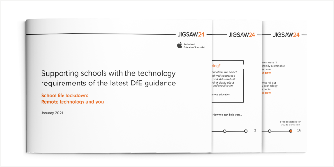 Supporting schools with the technology requirements of the latest DFE guidance