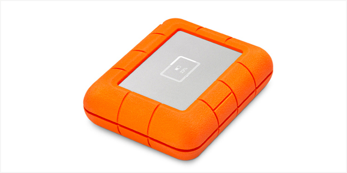Get creative on the go with the LaCie Rugged BOSS