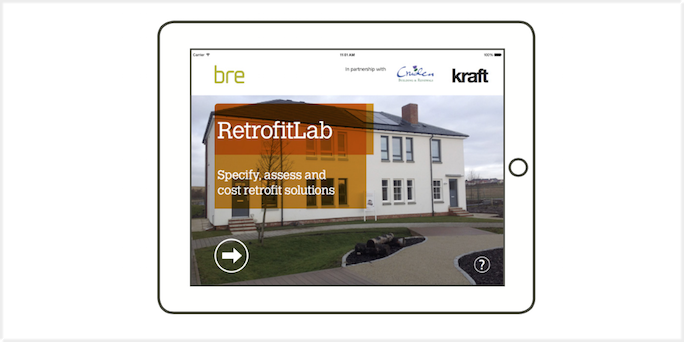 Overcoming physical restrictions with an interactive app at BRE