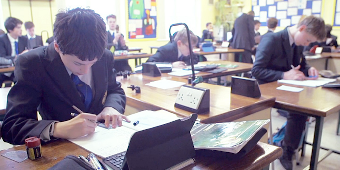 Enhancing independent learning at The Royal Grammar School