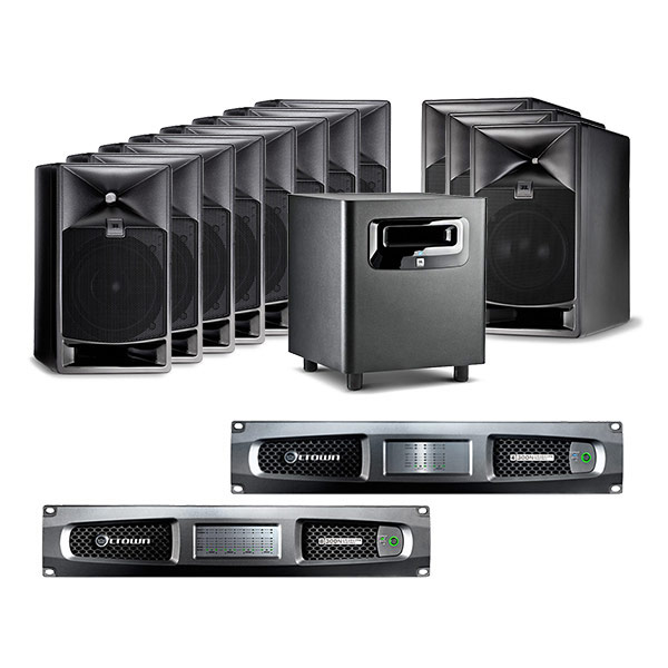 JBL 7.1.4 Atmos Premix Surround Monitoring System
