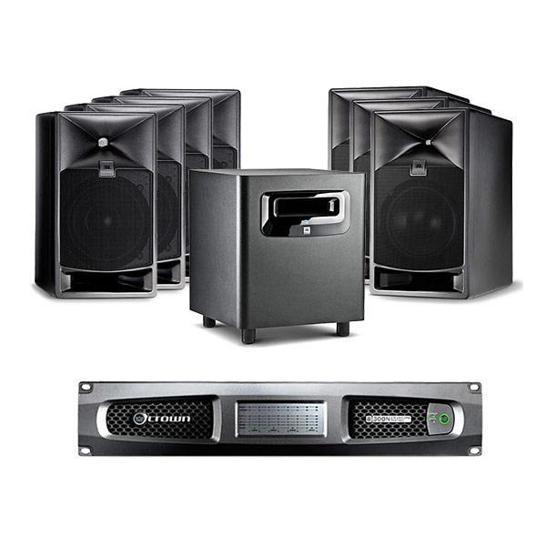 JBL LSR7 7.1 Surround Monitoring System