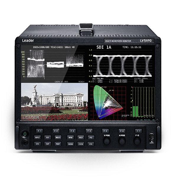 Leader LV5490 4K HDR Multi Waveform Monitor