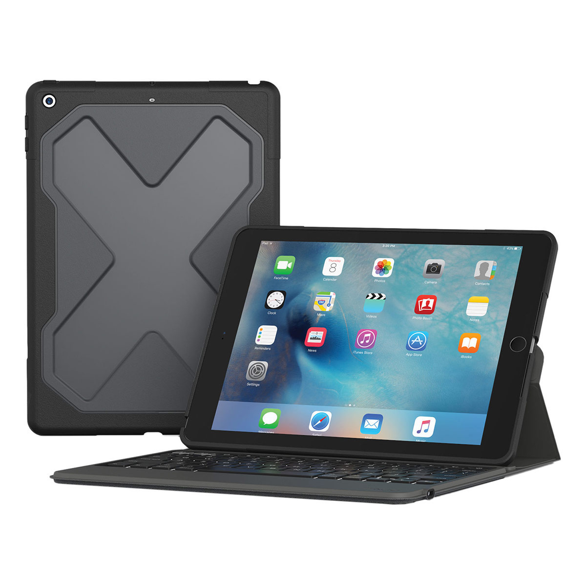 Zagg Ipad Pro 10 5 Quot Ipad Air 2019 Backlit Rugged