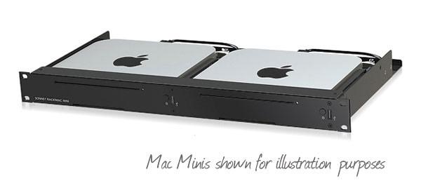 Mac mini 1U RackMount kit for 1 or 2 Mac minis UPDATED VERSION V1.1