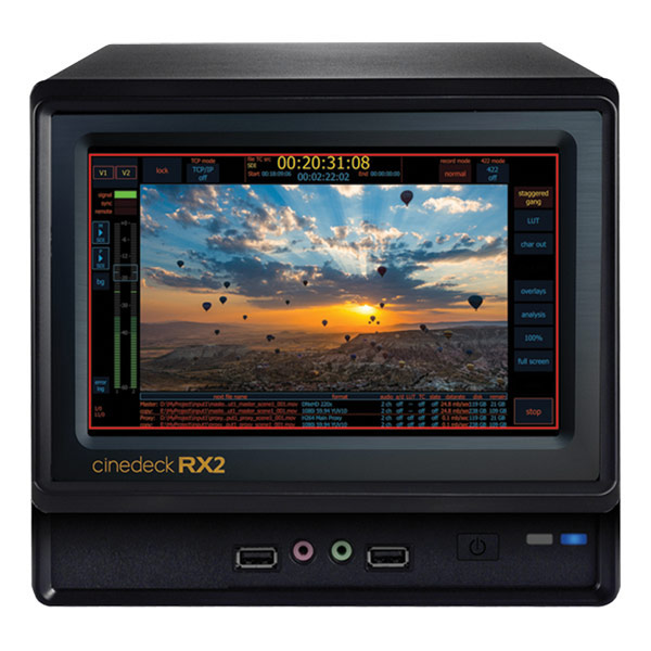Cinedeck RX2 Compact 2-Channel VTR Replacement
