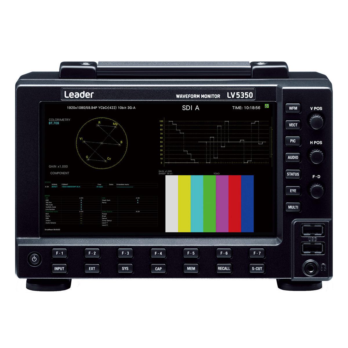 Leader LV5350 Waveform Monitor