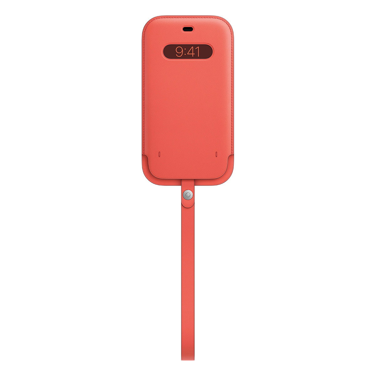 iPhone 12 Pro Max Leather Sleeve with MagSafe - Pink ...