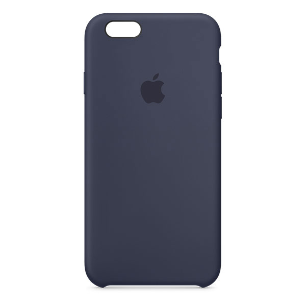 new style 1e744 376d8 Apple iPhone 6s Silicone Case - Midnight Blue