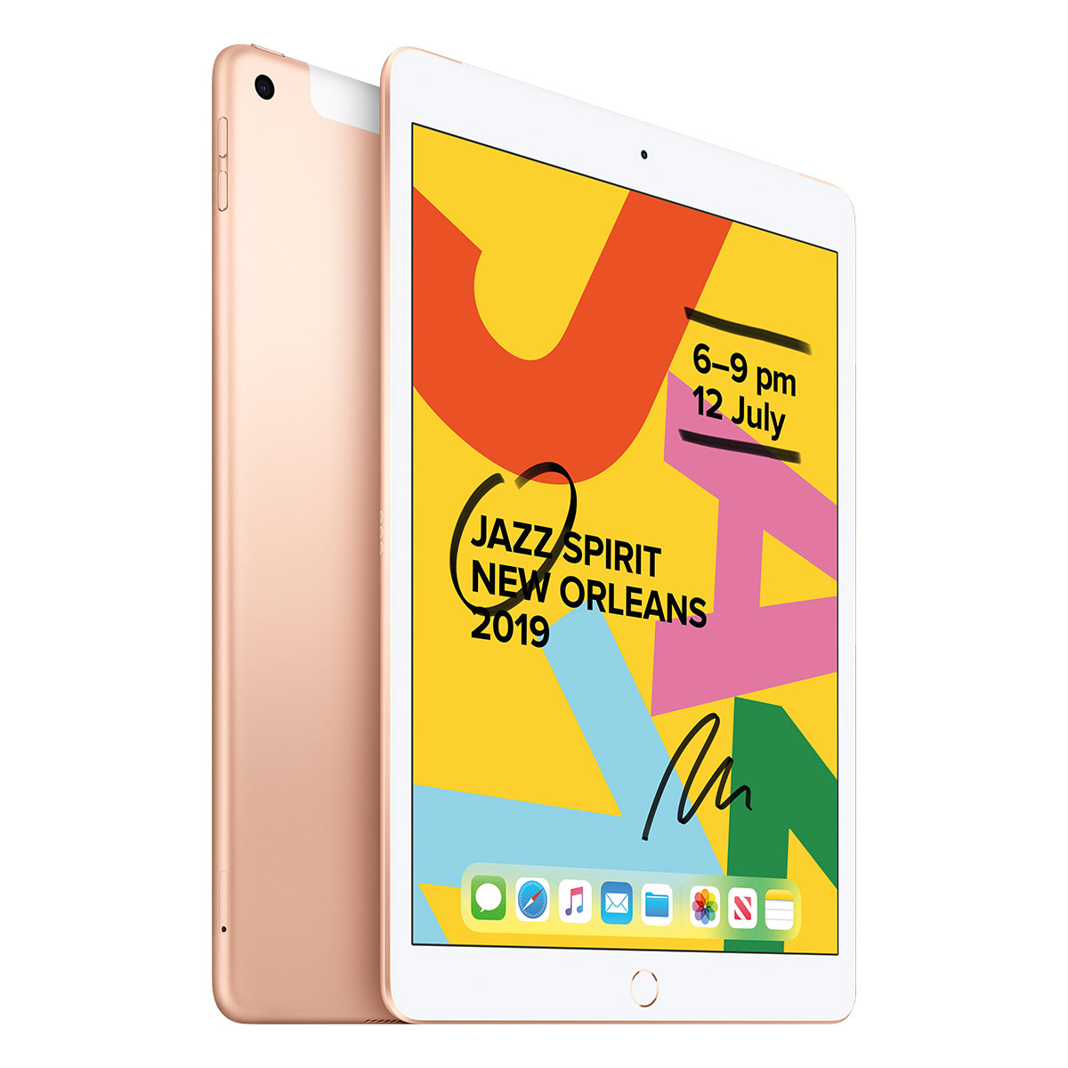 "Education Apple iPad 10.2"" 32GB WiFi + Cellular - Gold"