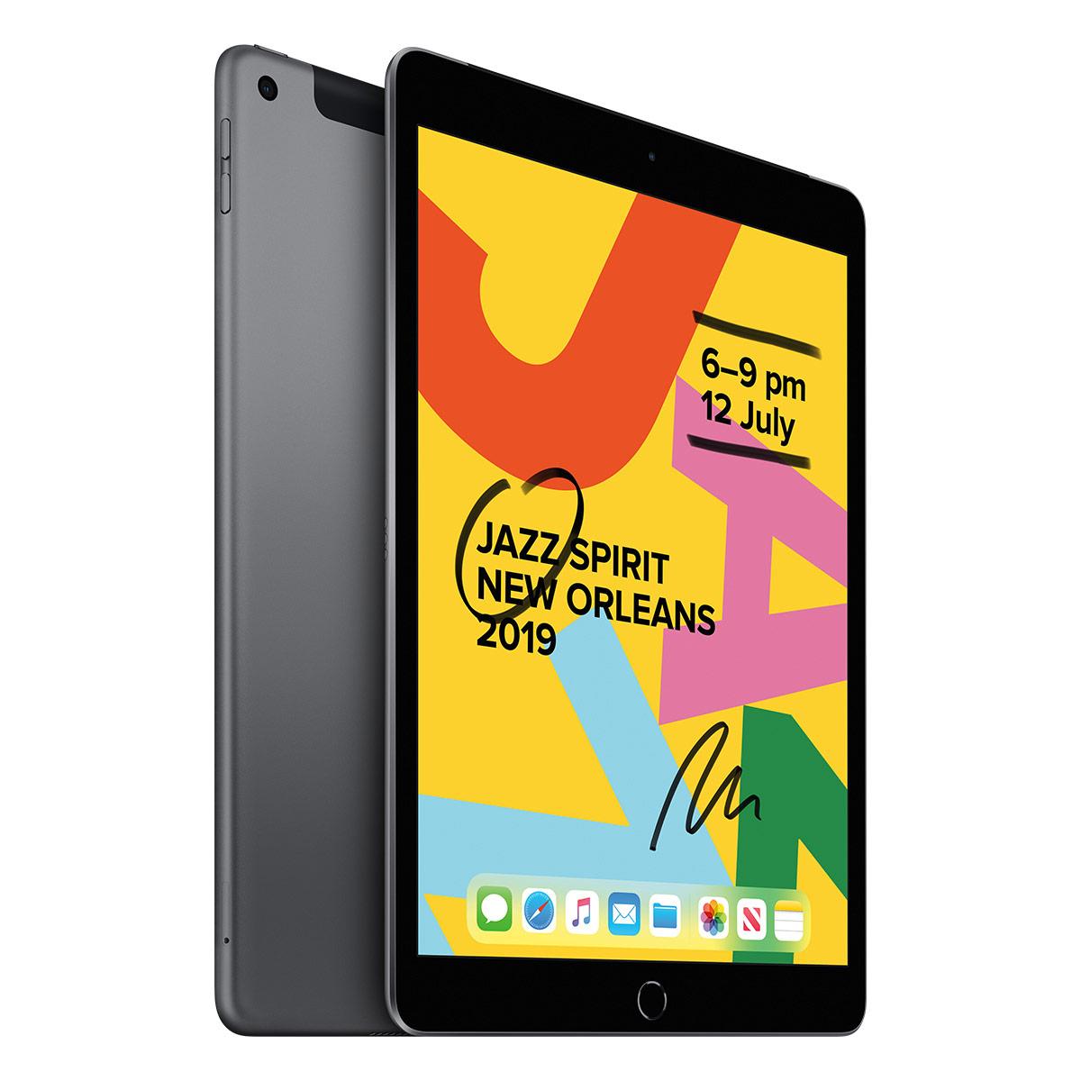 "Apple iPad 10.2"" 128GB WiFi + Cellular - Space Grey"
