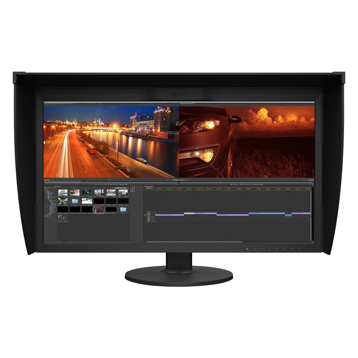 "EIZO 31"" Coloredge CG319X 4K HDR Video Editing Monitor With Hood"