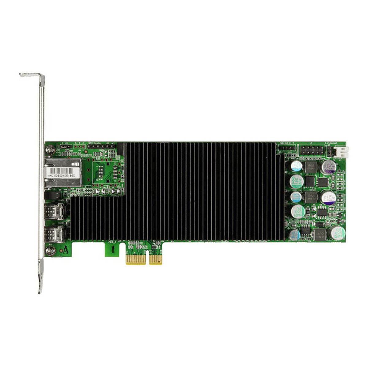Amulet Hotkey DXL2 Half-Height PCIe Dual Video Remote Workstation Card