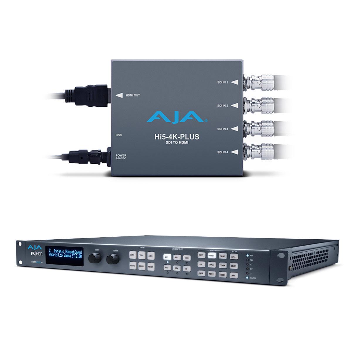 AJA FS-HDR SDR/HDR Preview Bundle