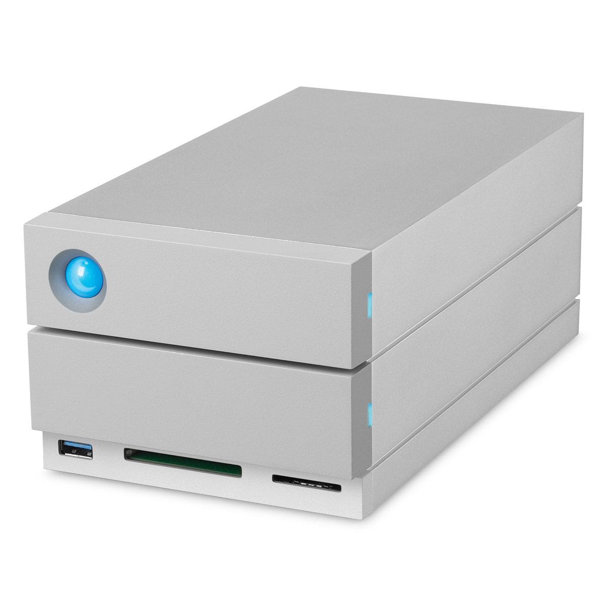 LaCie 2big Dock 8TB Thunderbolt3 & USB-C Drive & Docking Station