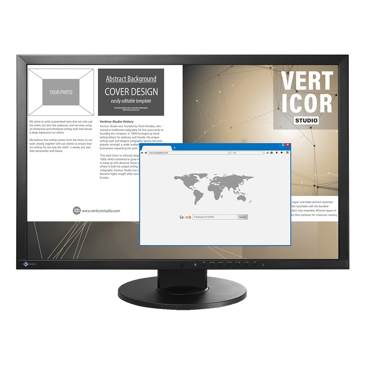 "EIZO FlexScan EV2430 24"" Widescreen LCD Monitor"