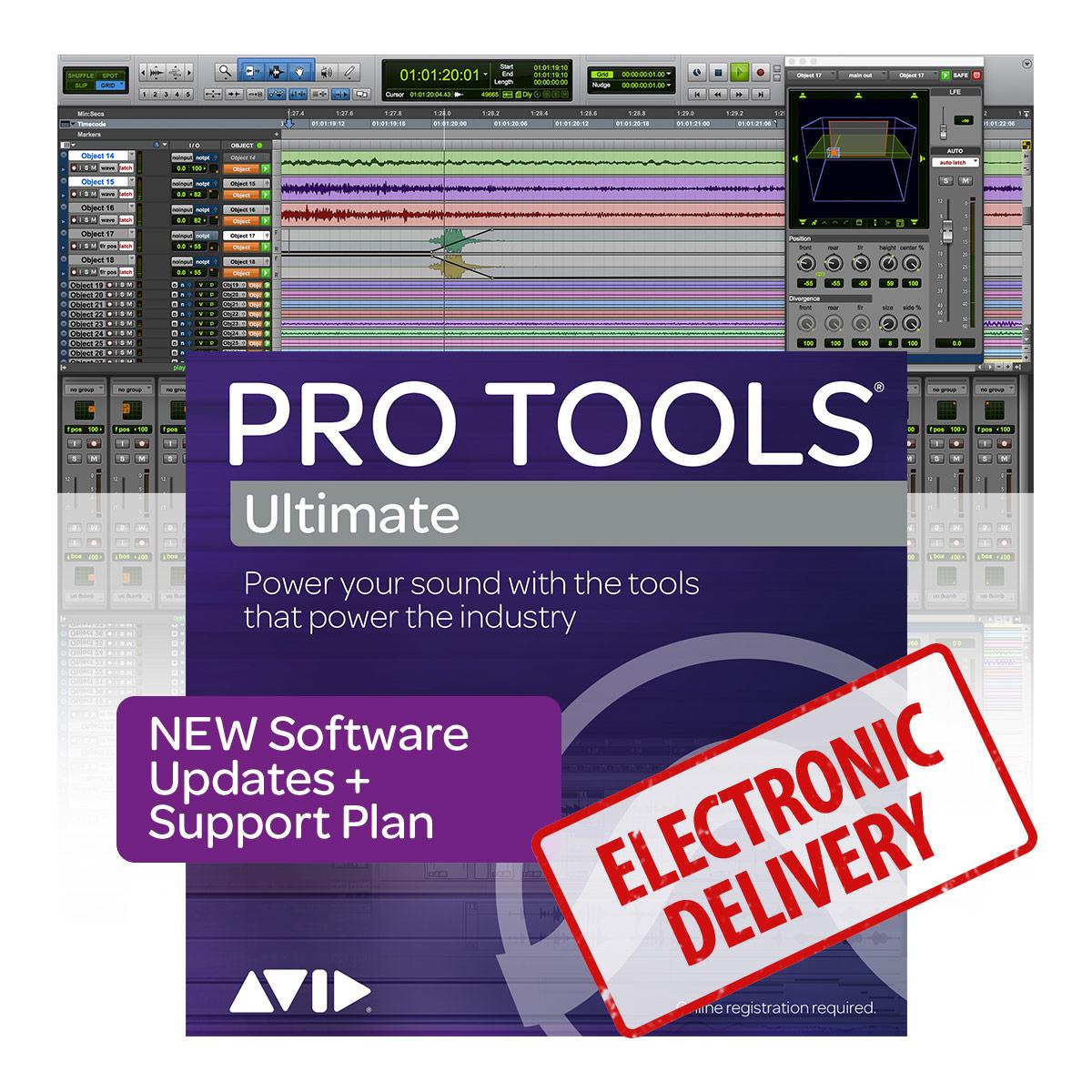 Avid Pro Tools | Ultimate Upgrade & Support Plan Reinstatement