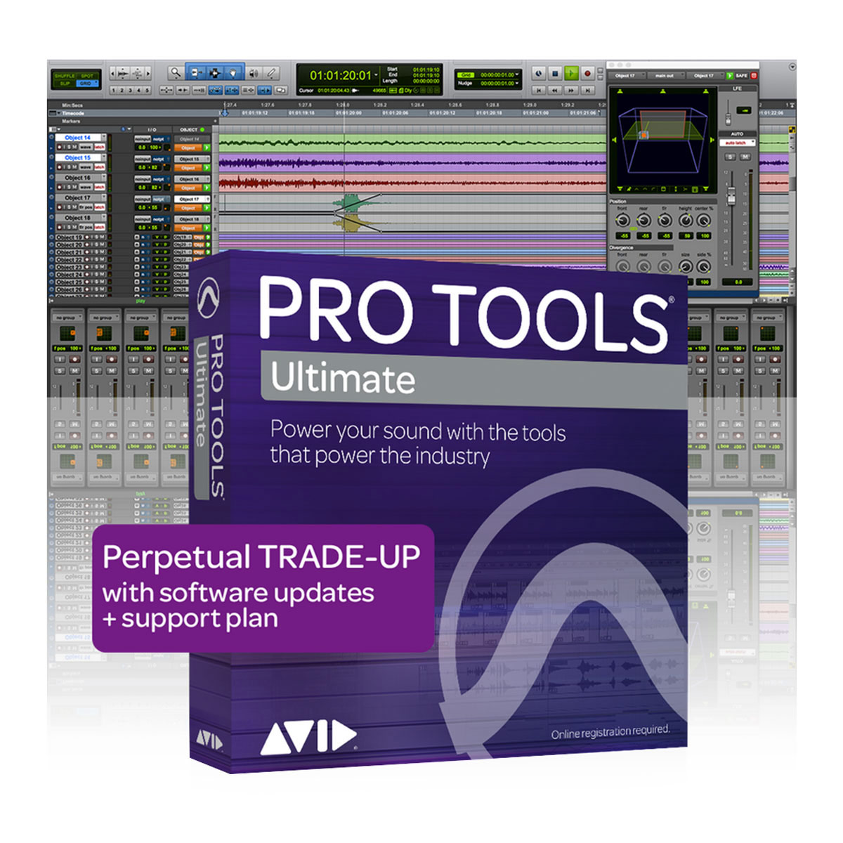 Avid Pro Tools | Ultimate - Trade Up from Standard (Perpetual) ESD