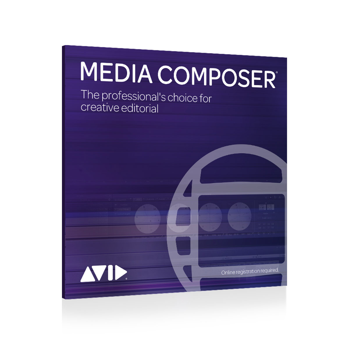 Avid Media Composer Perpetual License - Activation Card