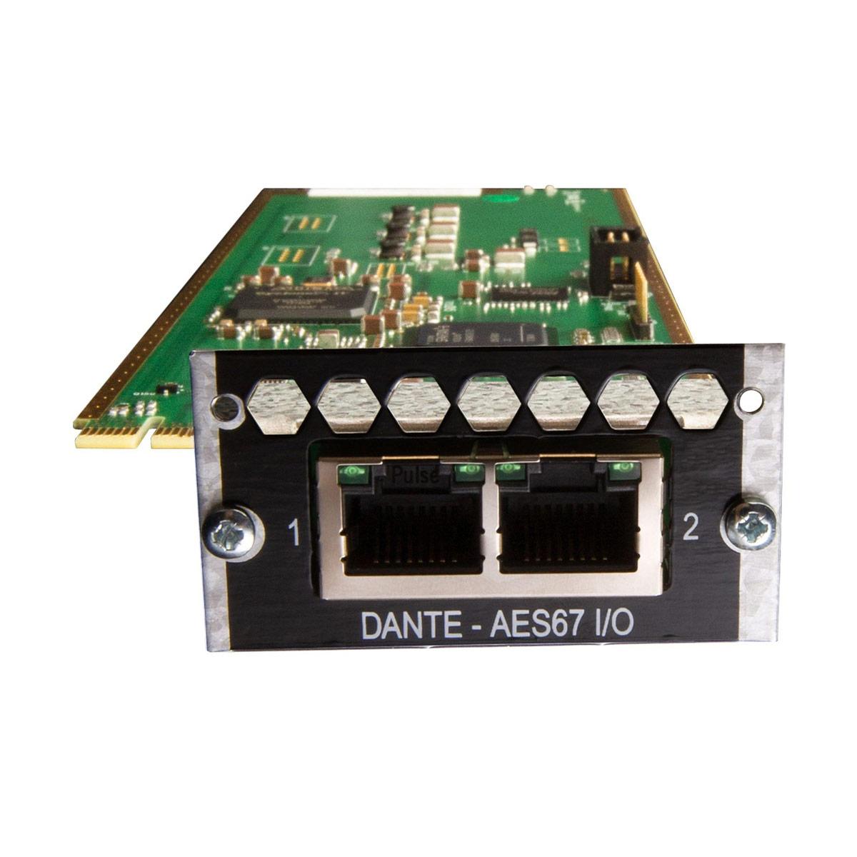 Avid Pro Tools | MTRX 128 Channel Dante Card