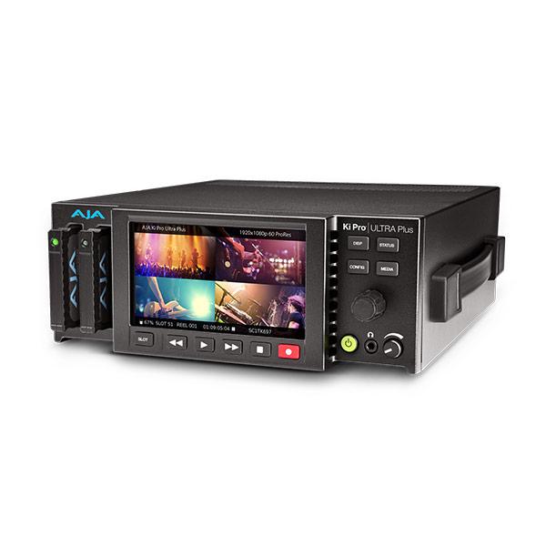 AJA Ki Pro Ultra Plus UHD/4K/2K/HD Recorder w/Multi Channel Encoding