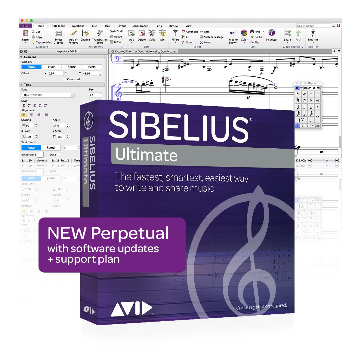 Sibelius Ultimate - Perpetual License