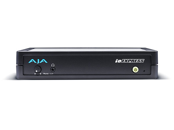 AJA IO Express PCIE Portable Video and Audio Input Output Interface