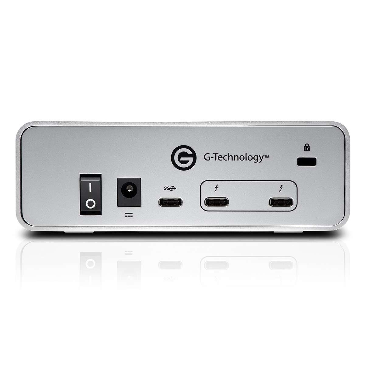 G-Technology G-DRIVE mobile USB-C 1TB Hard Drive Gray with Case Bundle