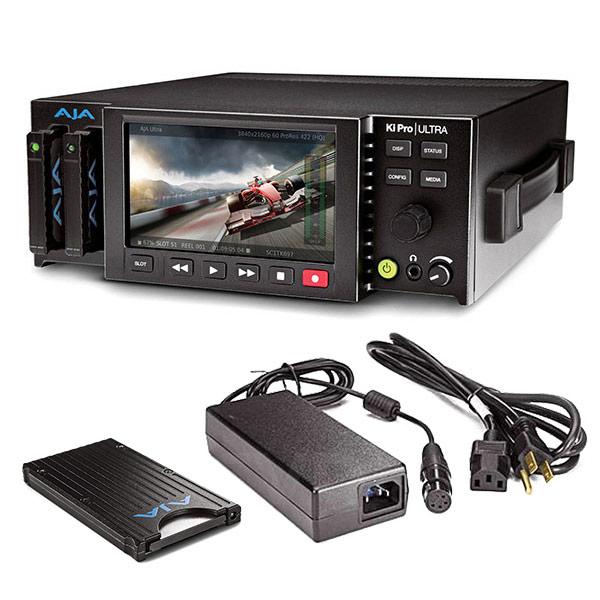 AJA Ki-Pro Ultra 4K/UHD/2K/HD Bundle