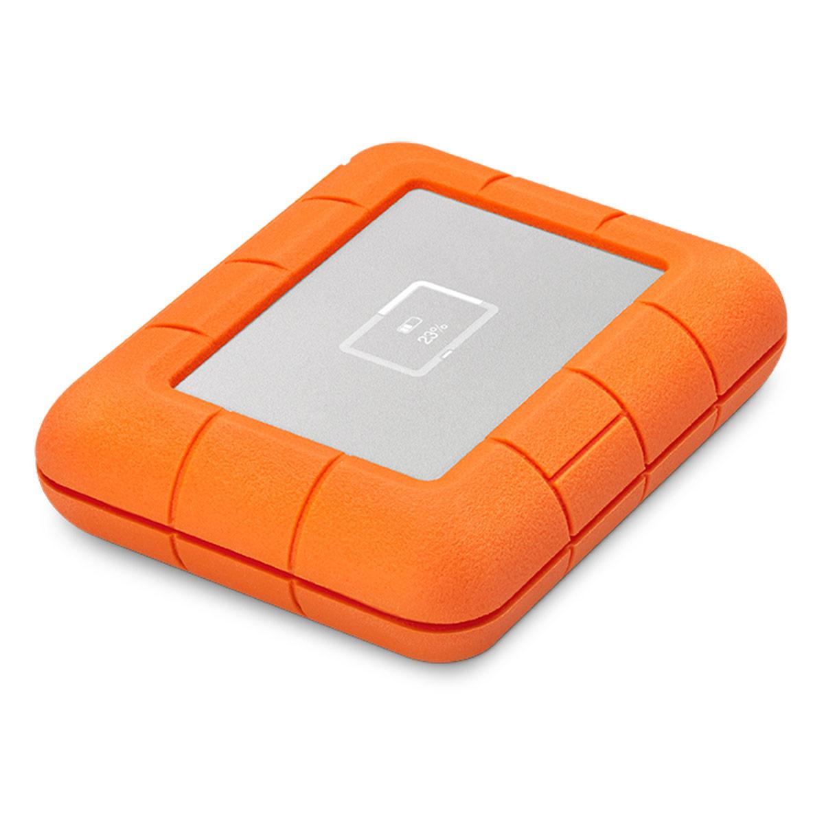 LaCie Rugged BOSS SSD 1TB Solid State Drive - USB-C & USB 3.0