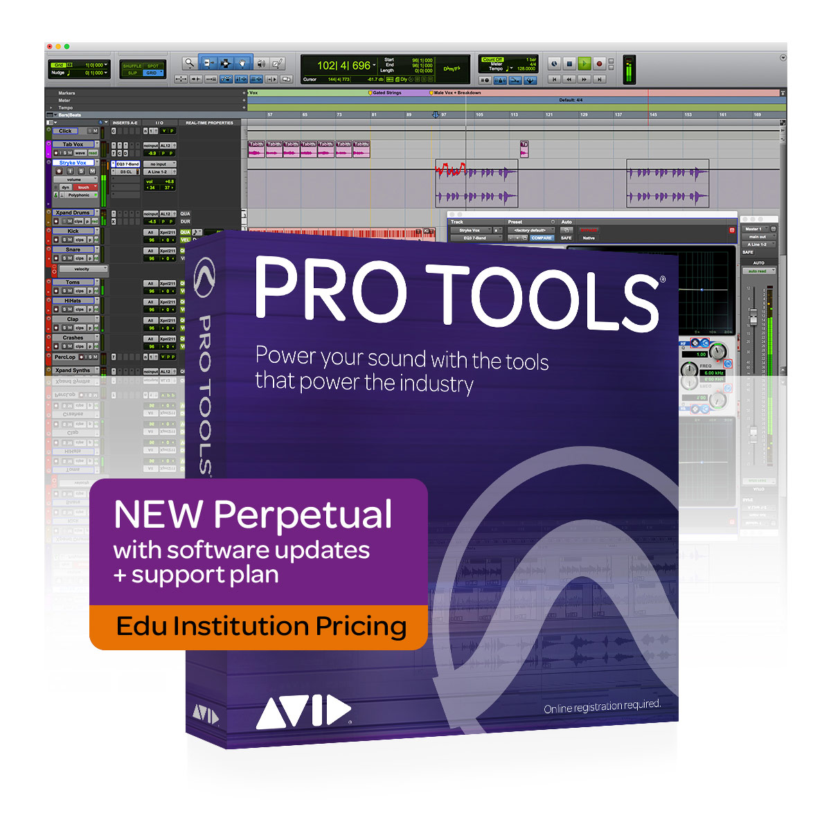 Avid Pro Tools Perpetual Licence - Edu Institutions