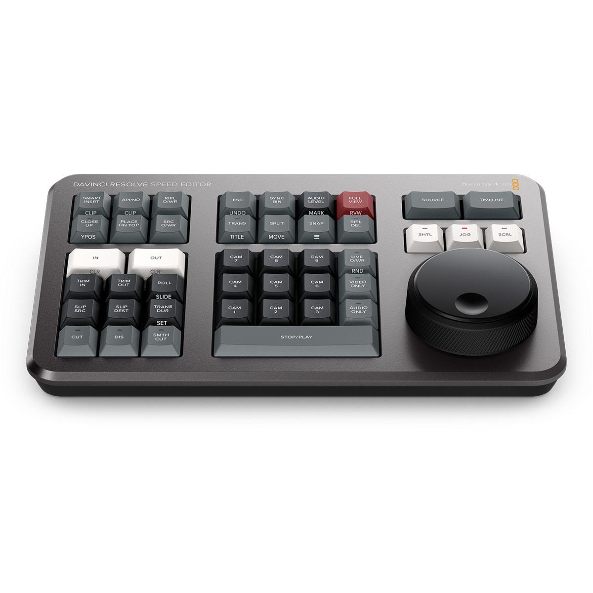 Blackmagic Design Davinci Resolve Speed Editor Shortcut Keyboard Jigsaw24